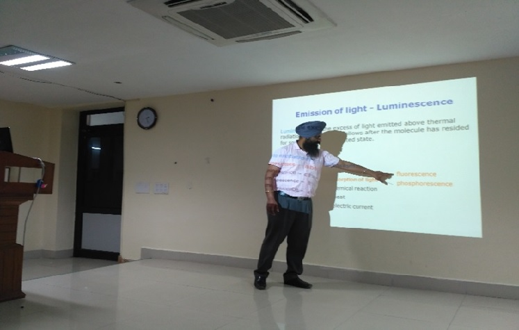 Dr. NArinder Singh Lecture